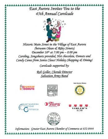 Join us for the 45th Annual Carolcade!