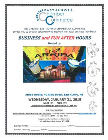 Business After Hours at Arriba Tortilla!