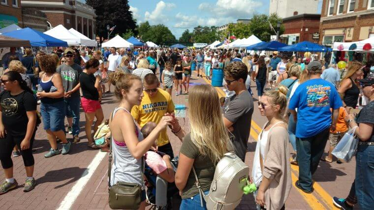 Thanks for Support for a Successful Street Festival & Sidewalk Sale Event!
