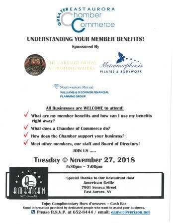 Getting the Most From Your Chamber Membership!