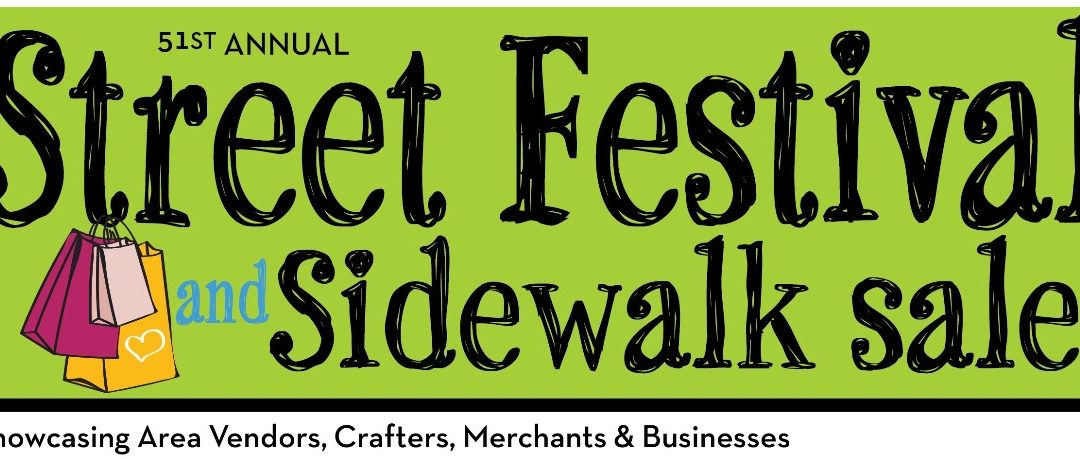 """Annual Sidewalk Sale & Street Festival Moved Online for 2020: Chamber reinvents """"Live"""" street event"""