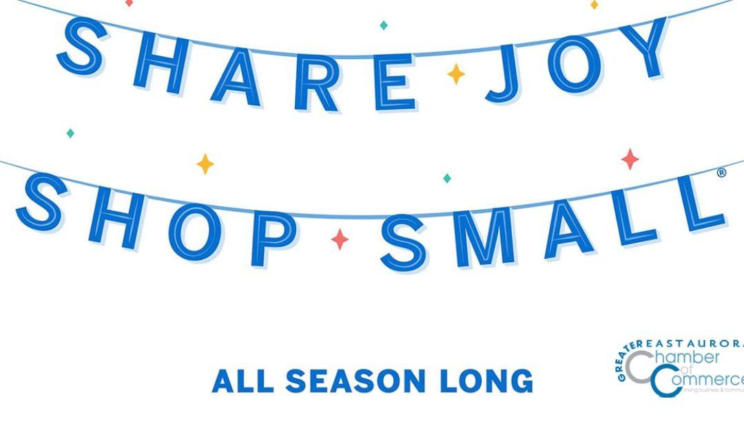 Share joy! Shop Small on November 28!